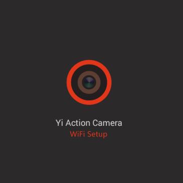 Xiaomi Yi action camera WiFi setup guide