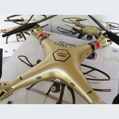 Syma X8hc Quadcopter Drone Camera Hobby Gold Big