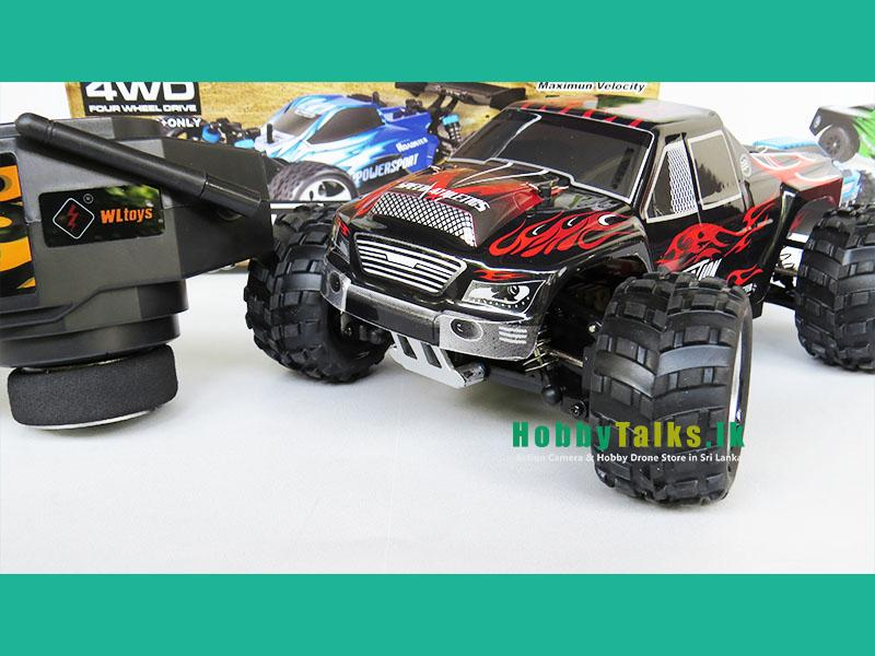Monster Truck Rc Cars >> Wltoys A979 Truck Rc Car 1 18 50kmph Hobbytalks Sri Lanka
