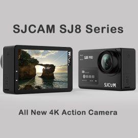 SJCAM SJ8 New Flagship 4K Camera